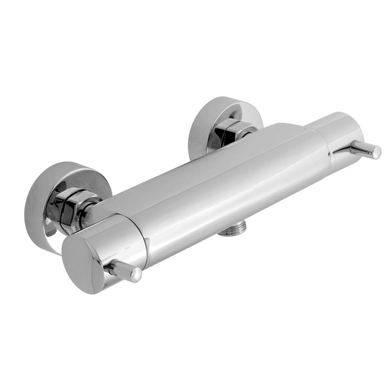 celsius wall mounted exposed thermostatic shower valve 1/2