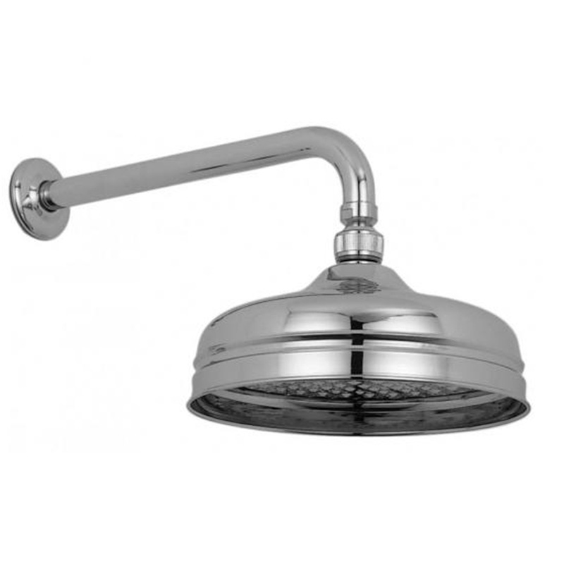 traditional fixed head 200mm (8) and arm chrome