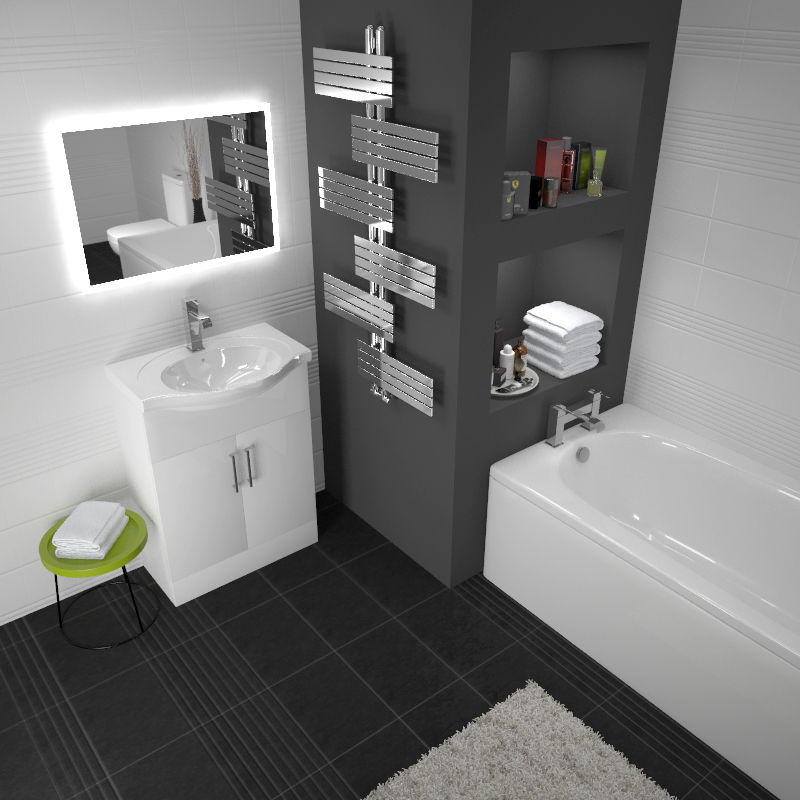 Ecco 65 Suite Unit And Basin, Close Coupled Toilet Buy ...