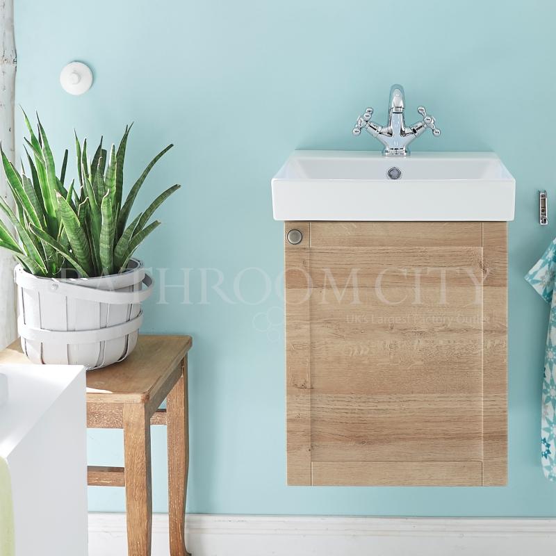 vanity base cabinet LH 1 door and basin