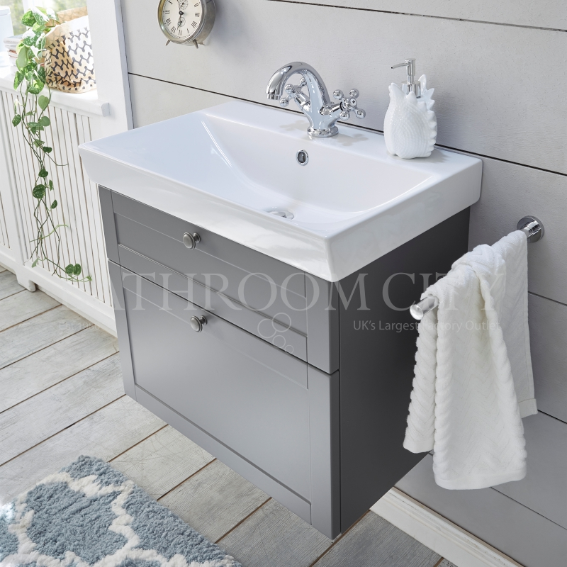 Solitaire 9030 vanity base cabinet 480x580x370 2 drawers and basin