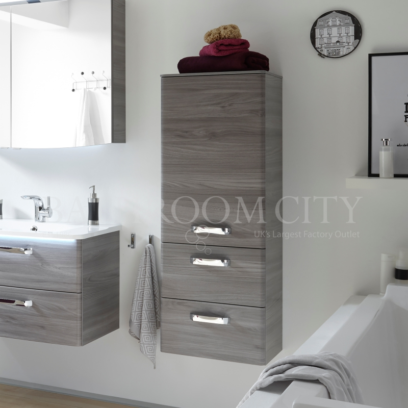 Solitaire 9020 Midi cabinet 1 LH door 2 drawers 1210x450x330 PG1