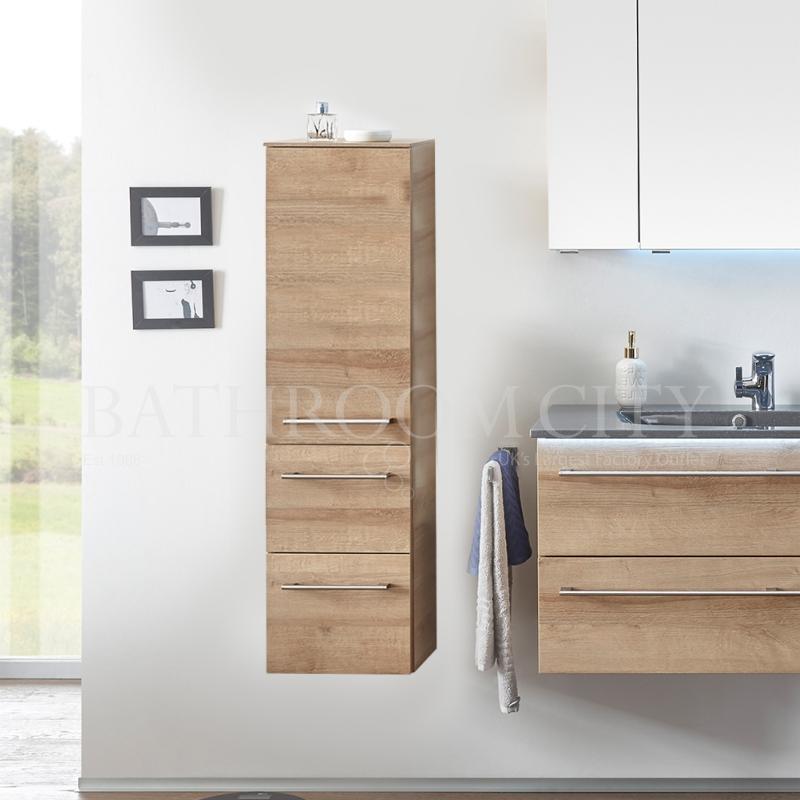 Solitaire 6025 Midi cabinet 1 open shelf doors 2 drawers 1210x300x330 LH PG1
