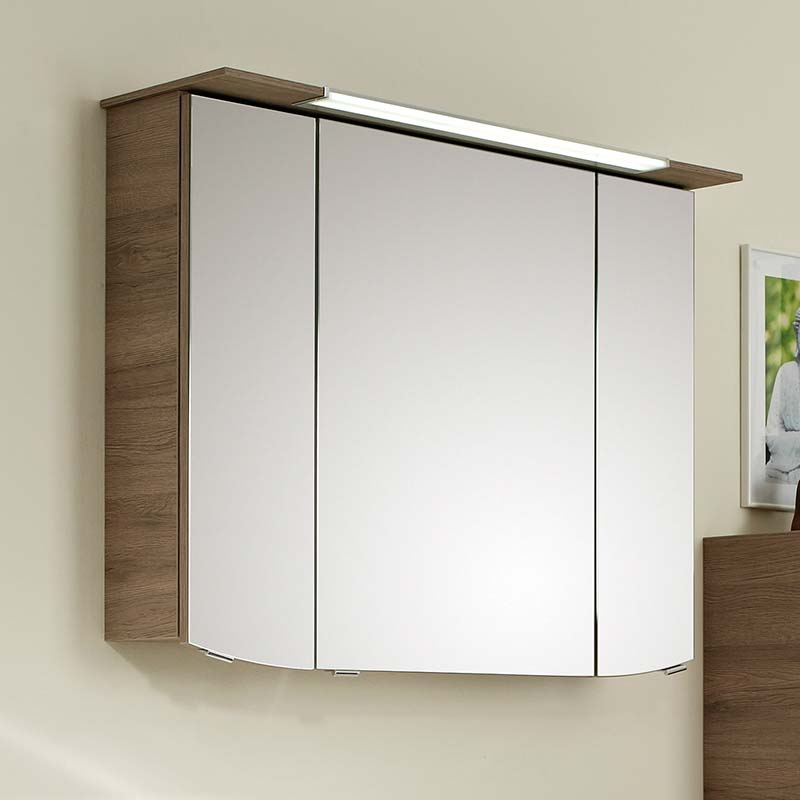 6001 Solitaire 900 Mirror cabinet 715x900x170