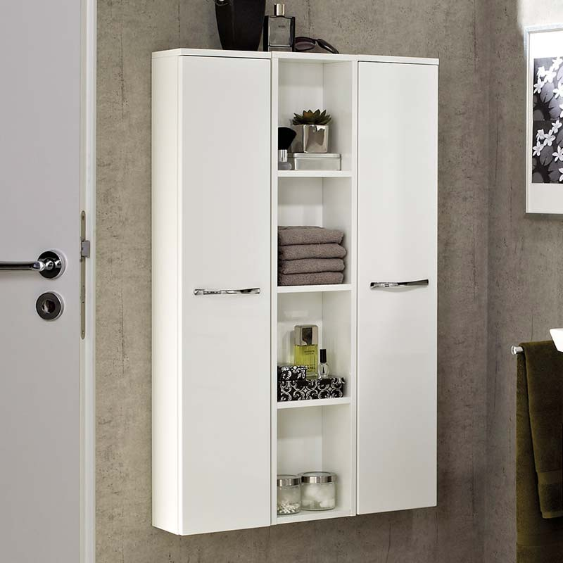6001 Export Wall Hung Side cabinet LH 1196x250x170 PG1