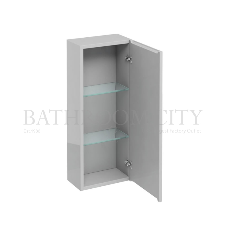 300mm wall cabinet with mirror,Anthracite grey