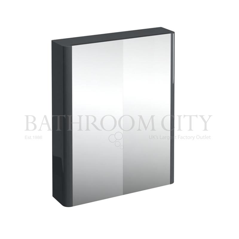 Compact bathroom cabinet