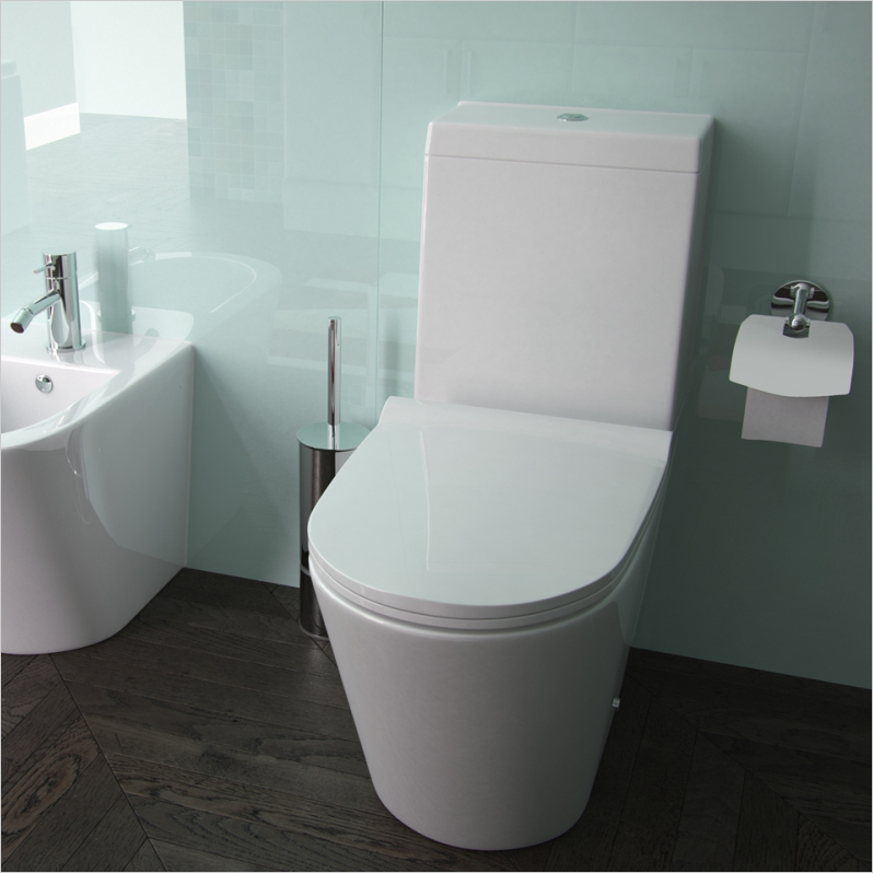 Arco 660 Projection closed back close coupled WC bowl with Cistern and Cover