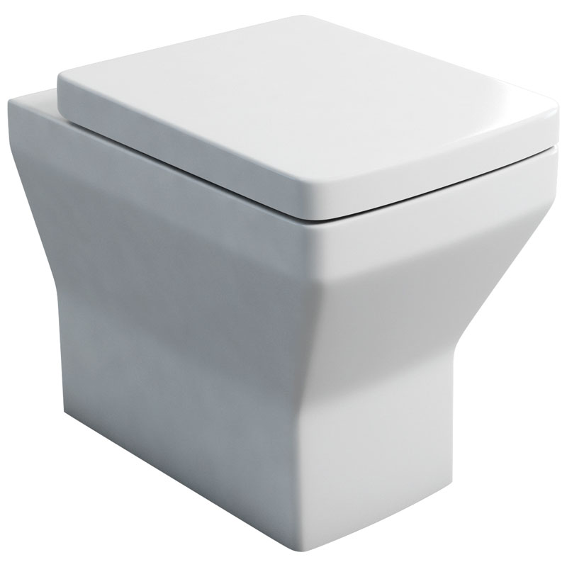 Cube back to wall WC and soft close seat