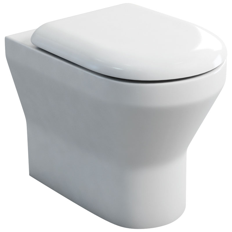 Curve Back To Wall Wc And Soft Close Seat Buy Online At