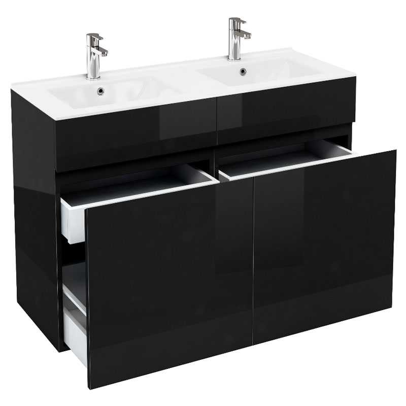 1200 Double Draw Unit And Basin Buy Online at Bathroom City