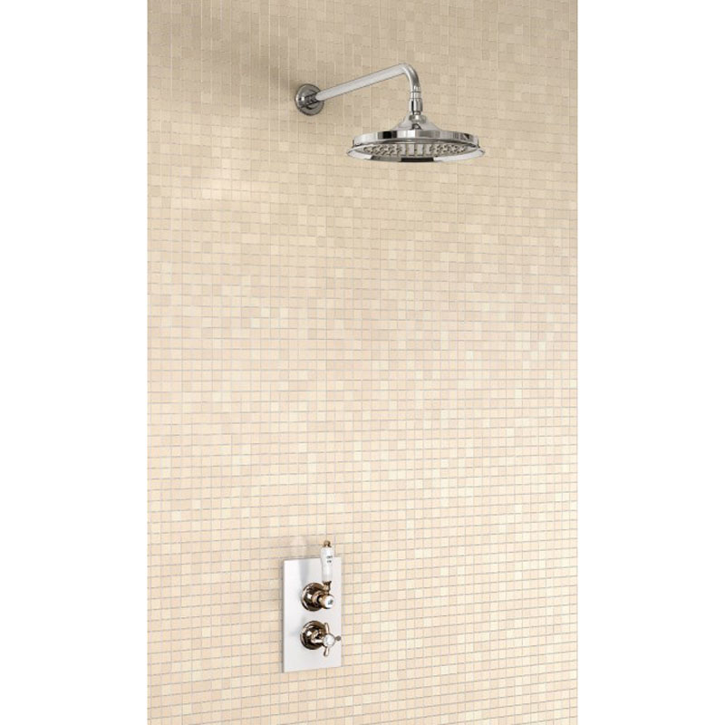 Home brands burlington bathrooms burlington trent anglesey - Trent Concealed Thermostatic Valve Straight Arm And 9 Buy