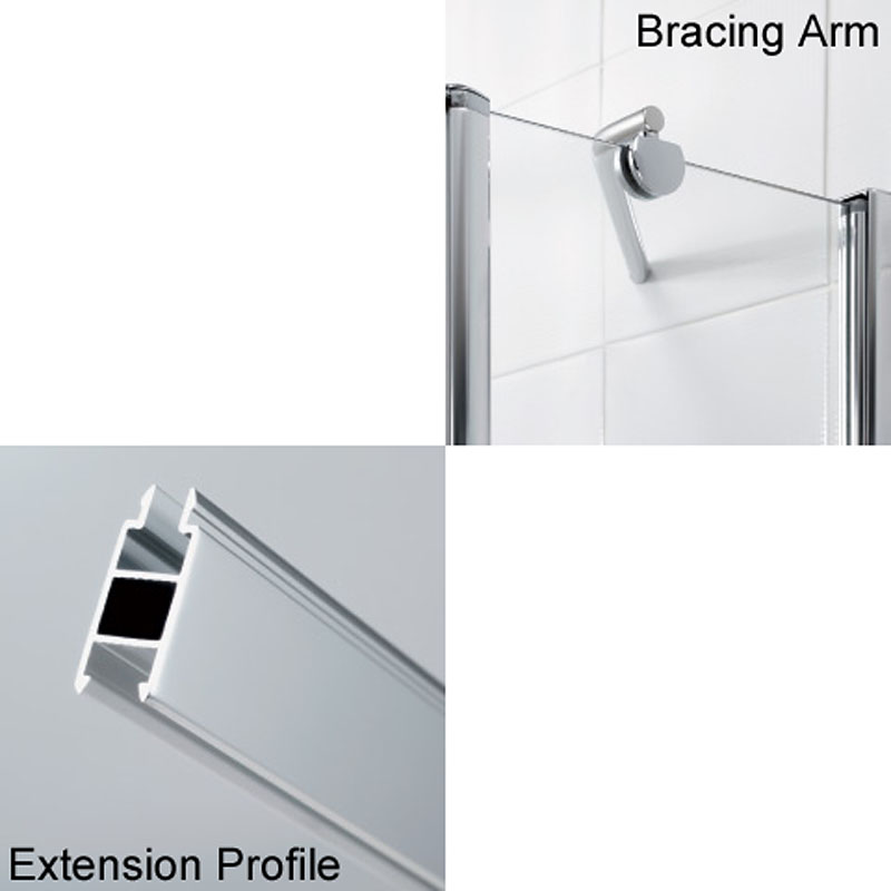 Lakes Extension Profiles And Shower Bracing Kits Buy