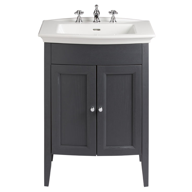 black vanity units for bathroom. Classic Vanity Unit  Blenheim Basin Graphite curved Amazing Value Bathroom and Cloakroom Dorchester Buy Online at