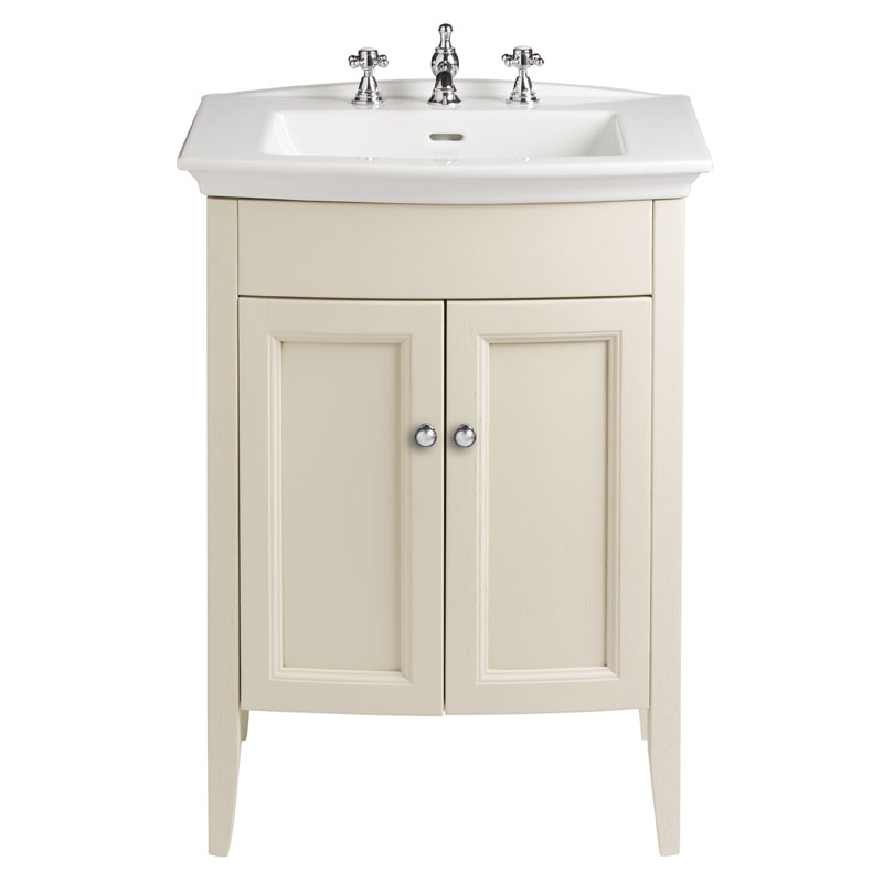CLASSIC VANITY UNIT WITH BLENHEIM BASIN IN OYSTER FINISH