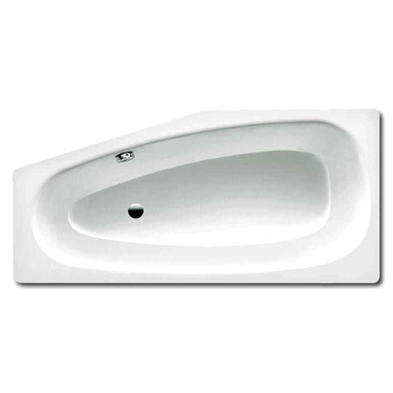 Стальная ванна kaldewei mini 830 157х75/50 с покрытием anti-slip и easy-clean