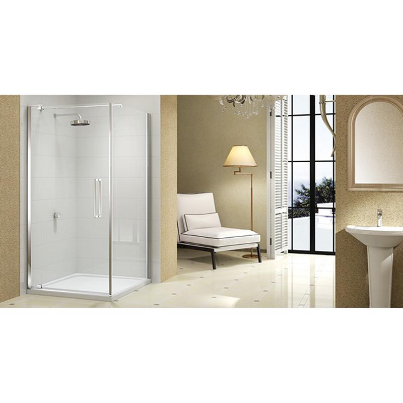 Shower cubicle 10mm glass series 1000 pivot door enclosure for 1000 pivot shower door