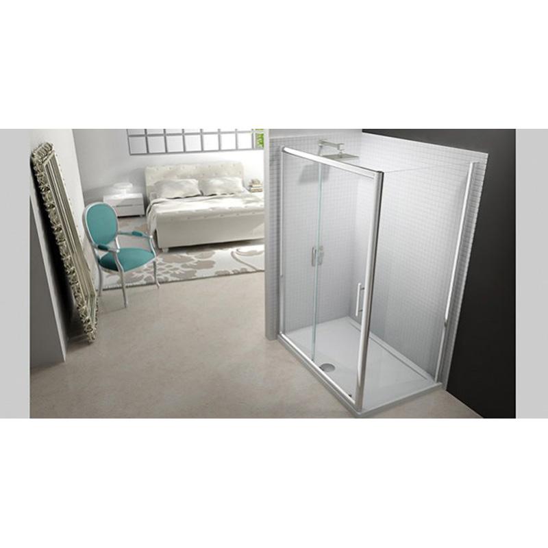 Merlyn 6 series 1700 sliding door shower enclosure for 1700 shower door