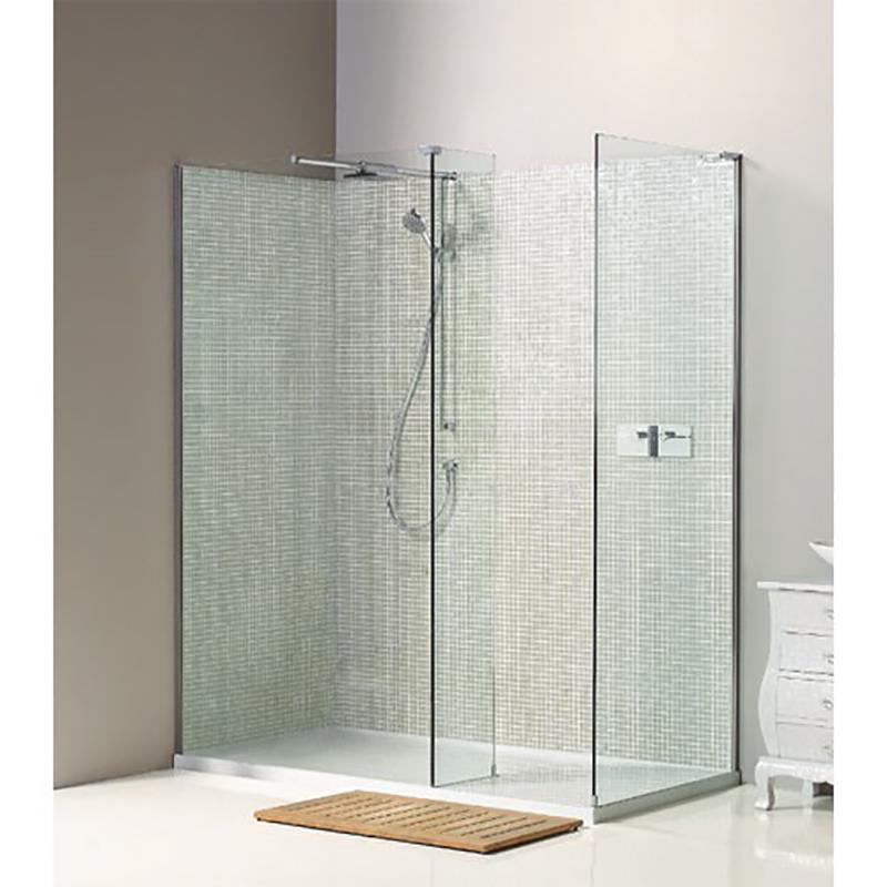 Nwsc1290 boutique corner walk in shower enclosure buy for Large walk in shower enclosures