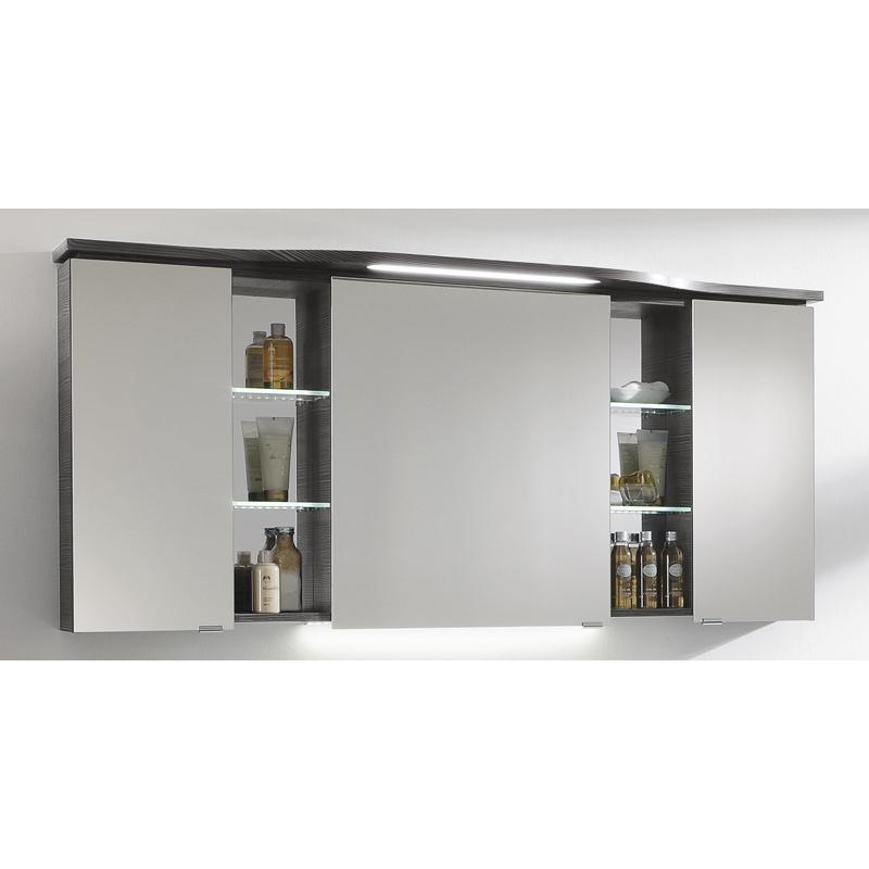contea mirror cabinet 3 doors 6 shelves buy online at bathroom city