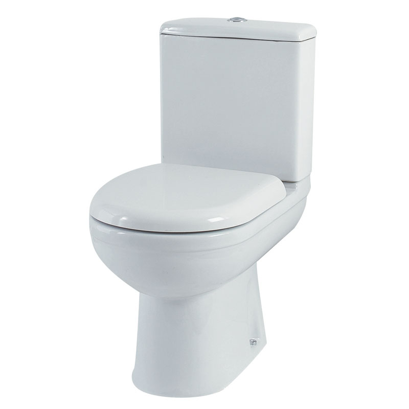 Denver Close Coupled Toilet Complete Including Pan Dual Flush Cistern And Soft Close Seat Buy