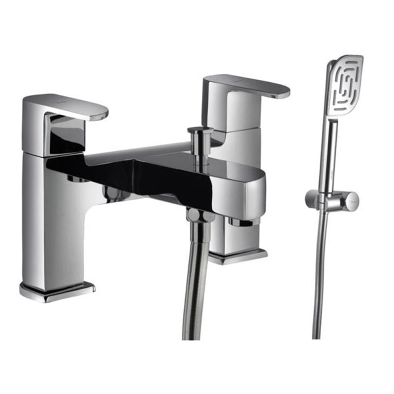 Alive 2 Hole H Type Bath and Shower Mixer with Shower Kit