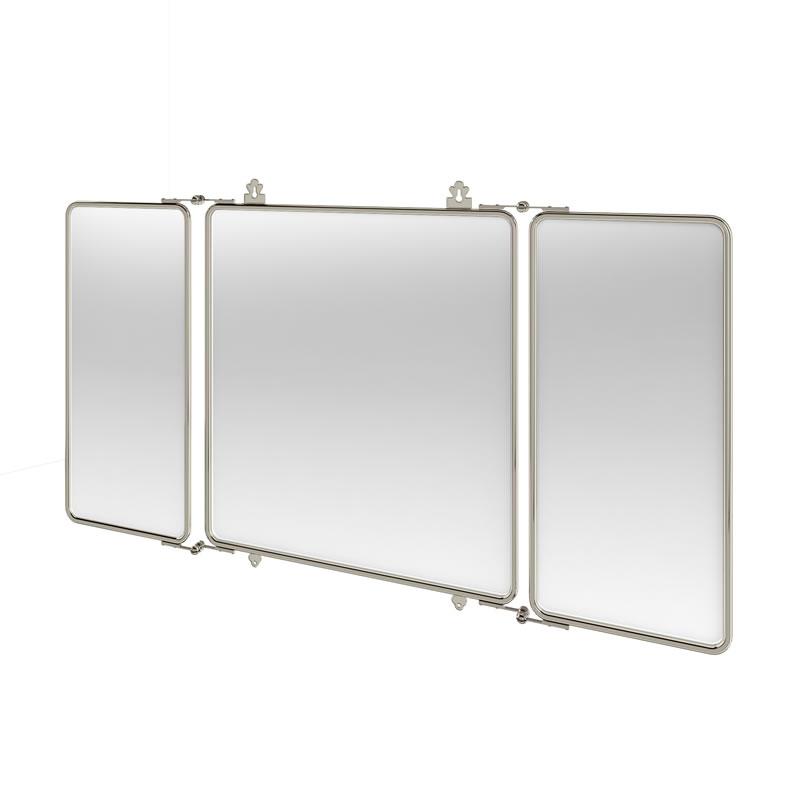 Arcade NKL 3 fold bathroom mirror