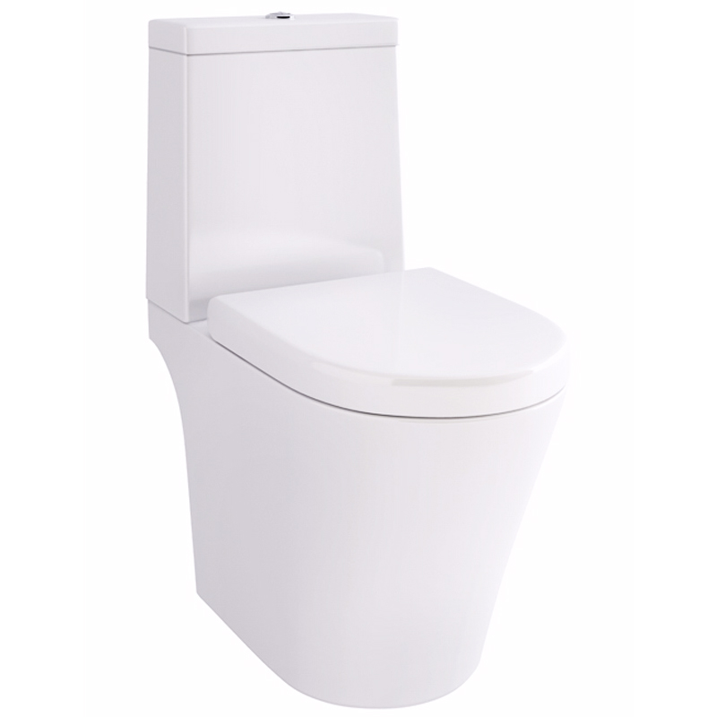 Arco Open Back Close Coupled Wc With Fixings and SC seat
