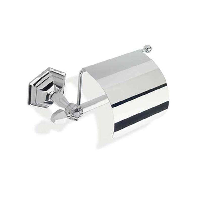 Astoria Covered Toilet Roll Holder Chrome
