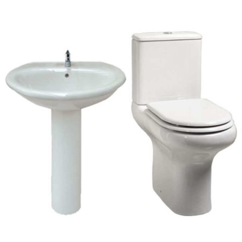 Avant Compact 4 Piece Bathroom Suite