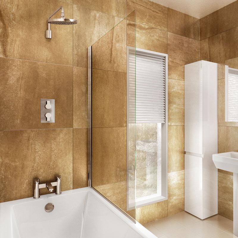 Bathscreen 85cm x 145cm