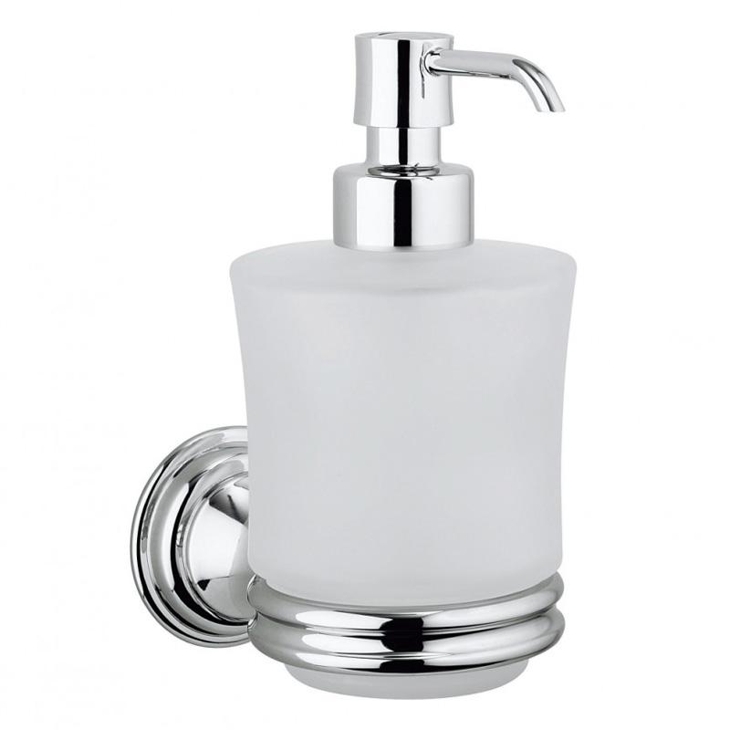 Belgravia Wall Soap Dispenser Chrome