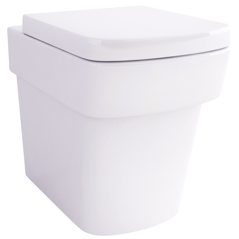 Bloque Back To Wall Wc with Fixings and soft close seat