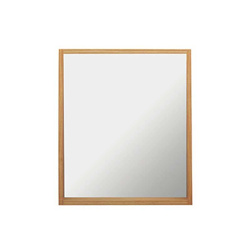 Canterbury Medium Mirror with Shelf Rosedale White