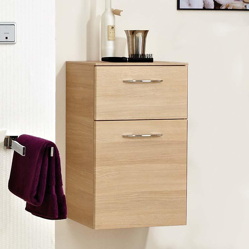 Cassca 1 draw and linen basket Bathroom cupboard