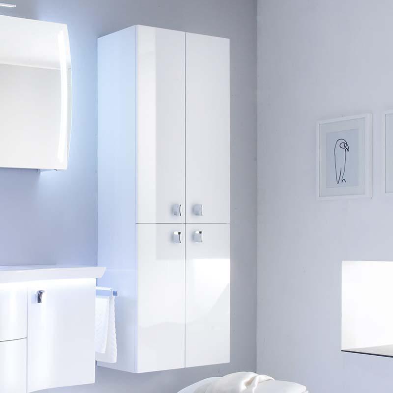 Contea Tall Boy Bathroom stroage cabinet  4 door