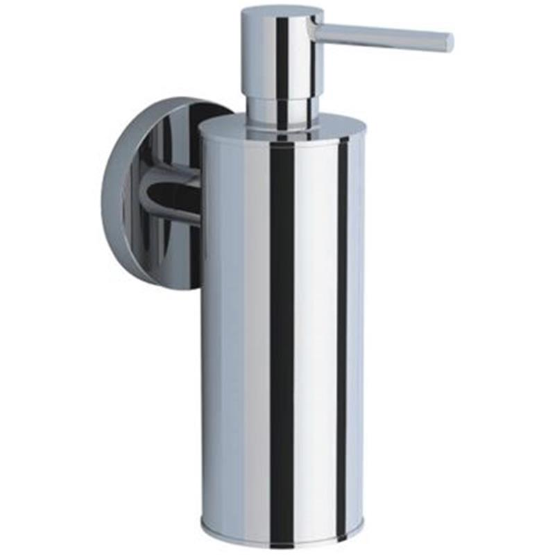 Continental Soap Dispenser, Metallic Bottle