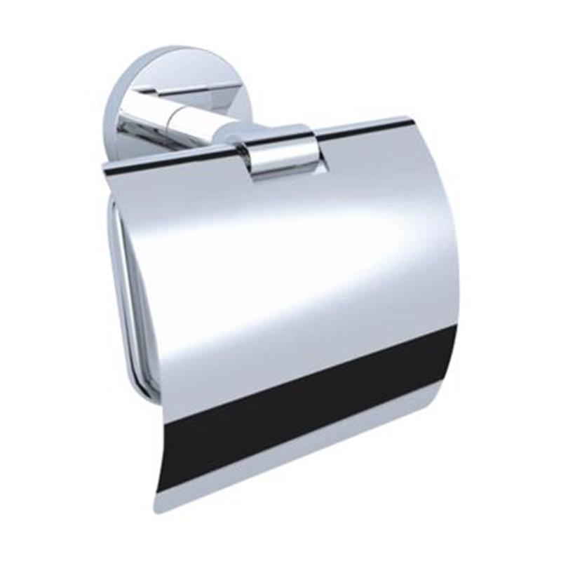 Continental Toilet Roll Holder with Flap