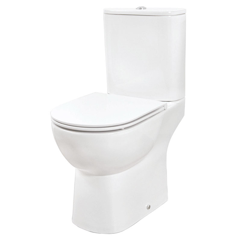 CURVE Open Back WC & Thin Seat