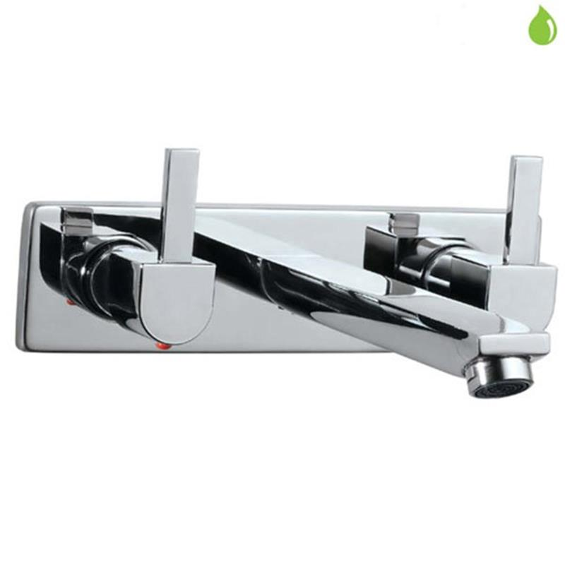 Darc Built-in Two Concealed Stop Valves with Basin Spout, LP 0.3