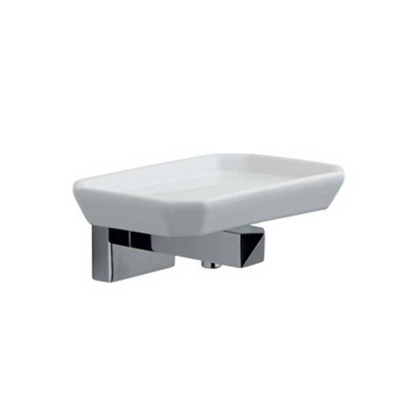 Dexter Wall Mounted Soap Dish Chrome