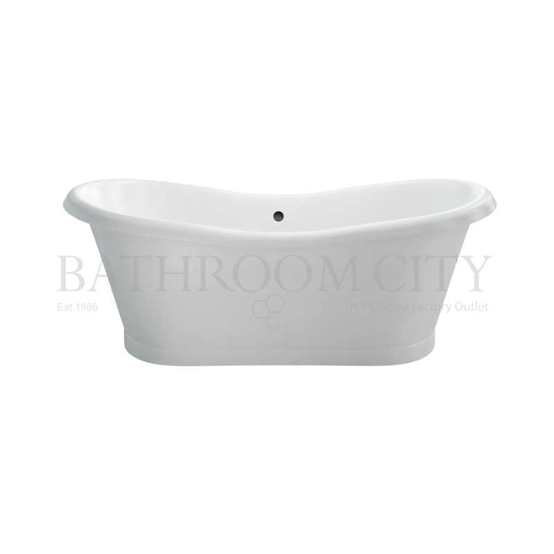 Admiral 1800 Free standing double ended bath