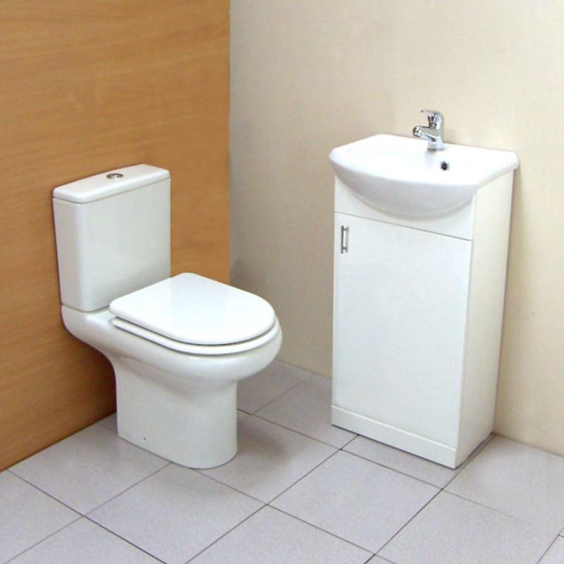 Ecco 450 Compact Cloakroom Suite