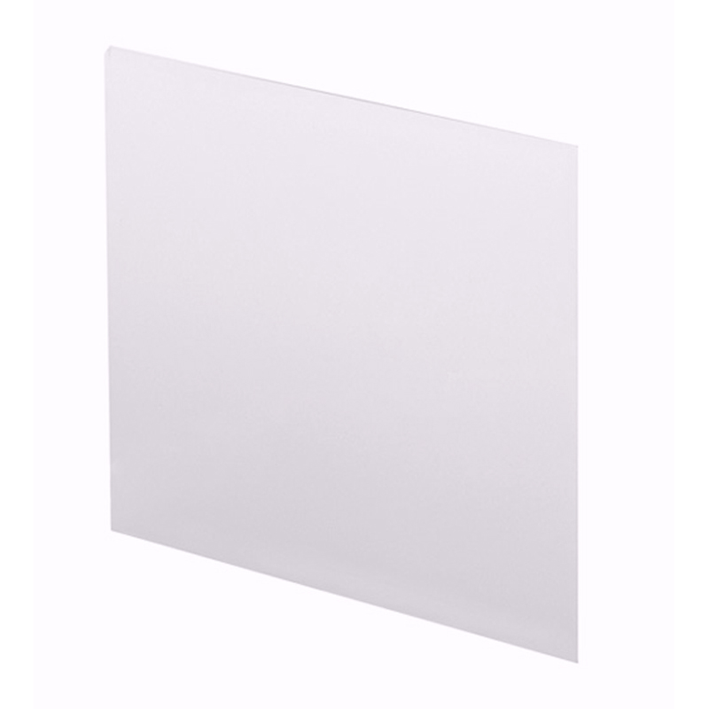 NEW ECCO ACRYLIC STRAIGHT END PANEL 700MM 2MM