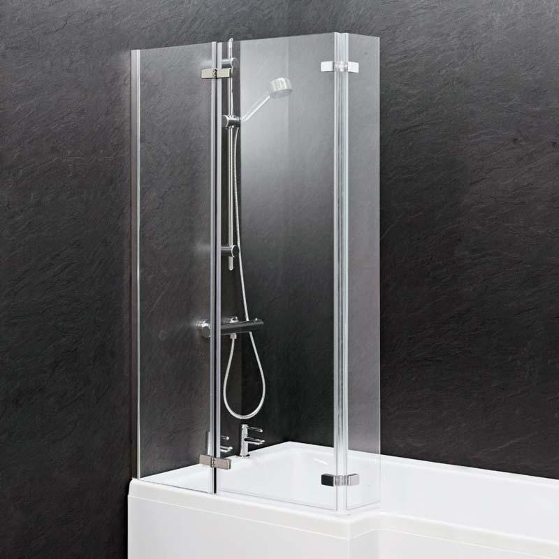 Ella Square Shower Bath Screen