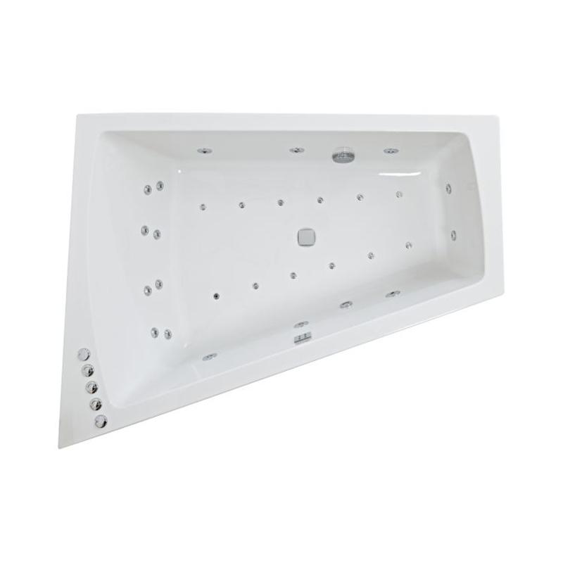 FIGURA Amanzonite Left Hand Bath & Panel (L170 x W130 (W70) x D47) 440 Litres