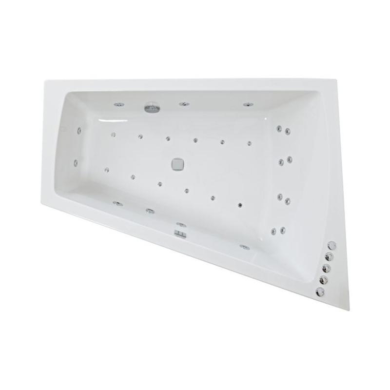 FIGURA Amanzonite Right Hand Bath & Panel (L170 x W130 (W70) x D47) 440 Litres