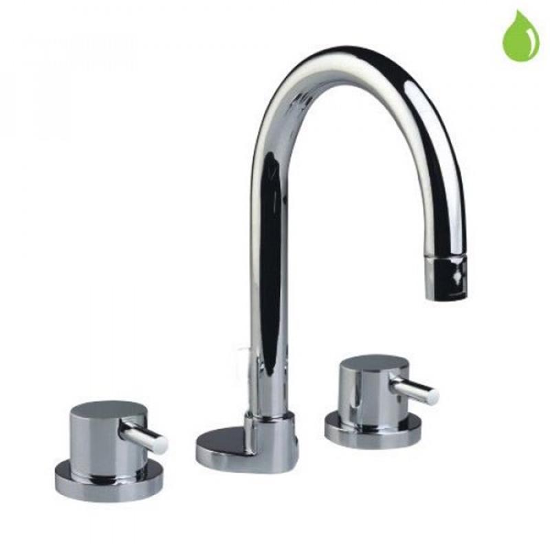 Florentine 3 hole Basin Mixer without pop-up-waste, LP 0.3