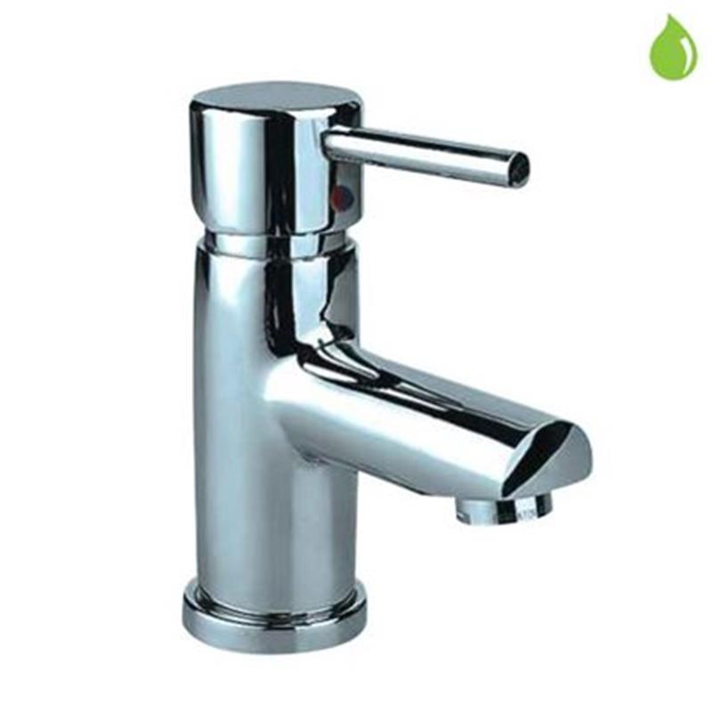 Florentine Single Lever Basin Mixer without Popup Waste, with 375mm Long Braided Hoses, HP 1.0