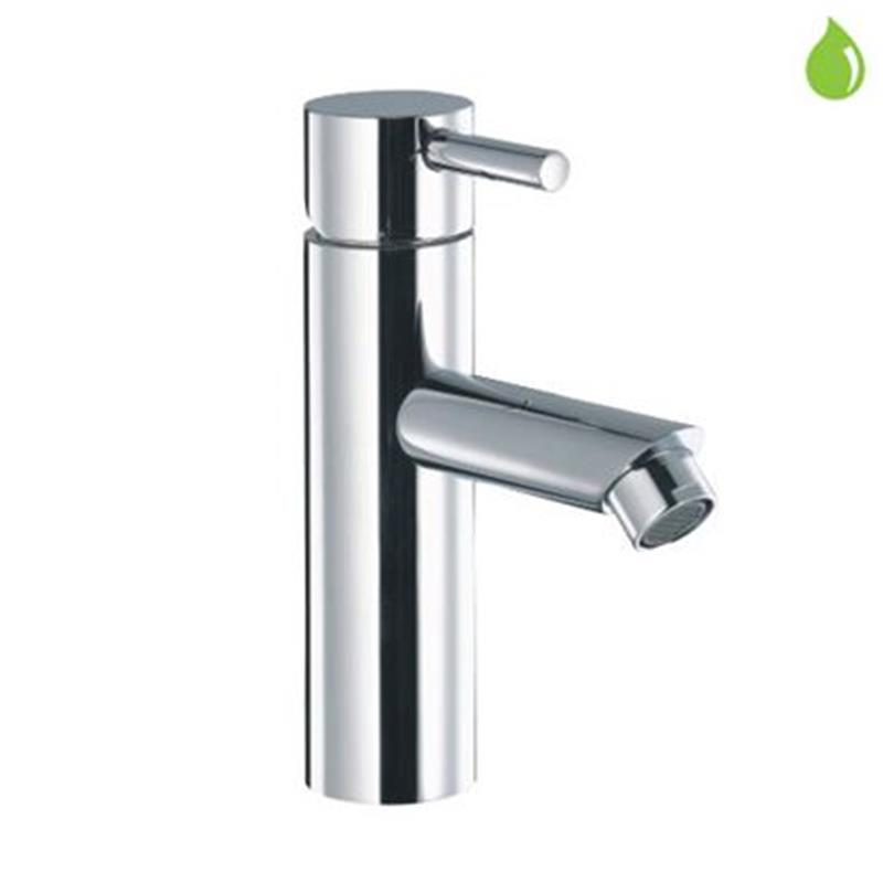 Florentine Single Lever Mini Basin Mixer without Popup Waste, with 375mm Long Braided Hoses, HP 1.0